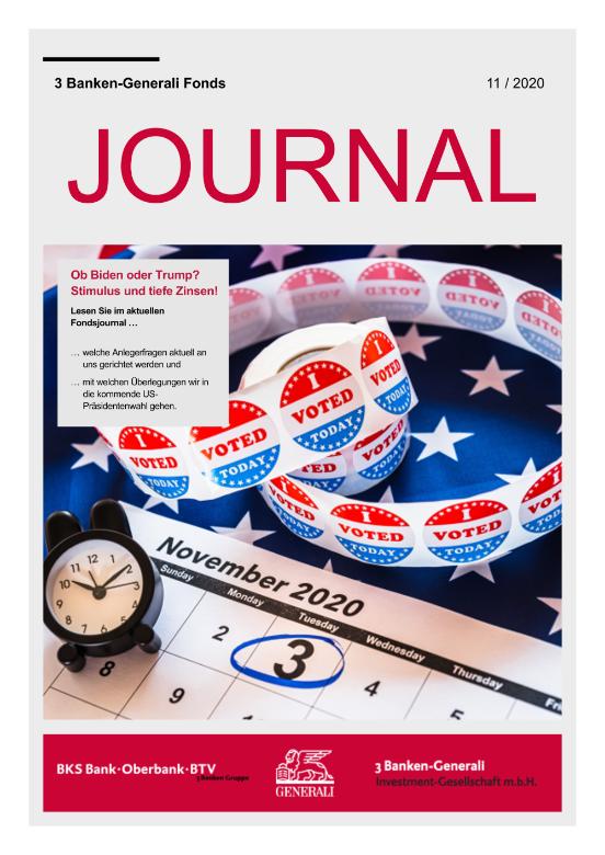 Ob Biden oder Trump? Stimulus und tiefe Zinsen! 11/2020